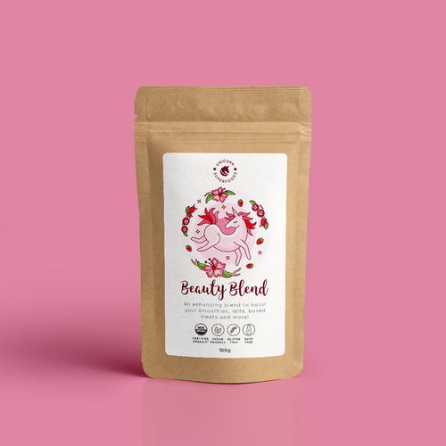 UNICORN SUPERFOODS - BLENDS - BEAUTY BLEND