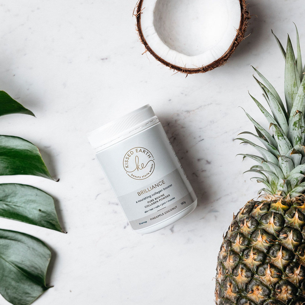 KISSED EARTH - BRILLIANCE - PINEAPPLE & COCONUT