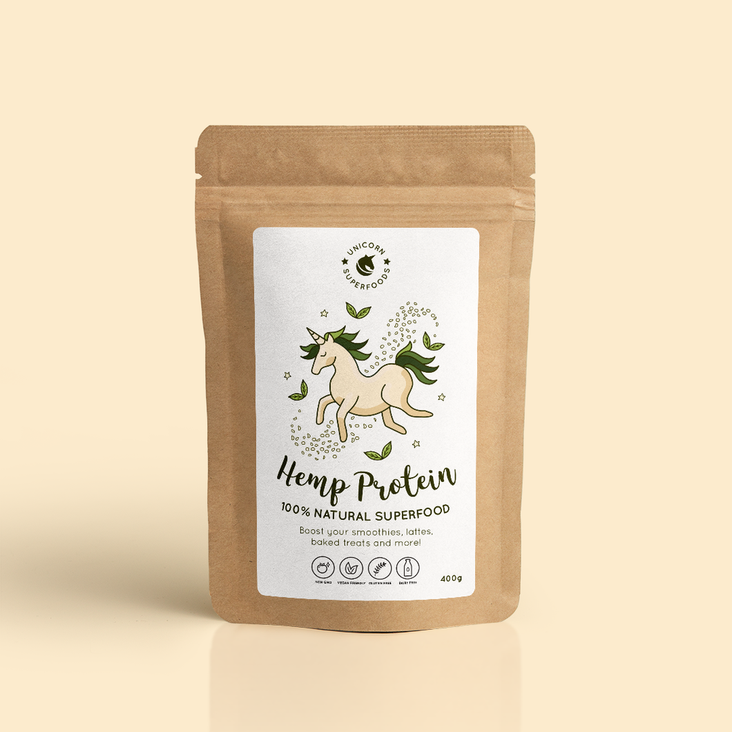 UNICORN SUPERFOODS - HEMP PROTEIN POWDER