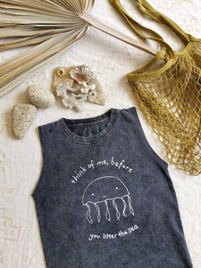 OAK MEADOW KIDS - THINK OF ME SINGLET