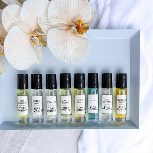 TINY TONICS - ESSENTIAL OIL ROLLER BLENDS - FOR MAMA