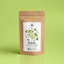 Load image into Gallery viewer, UNICORN SUPERFOODS - ORGANIC CEREMONIAL MATCHA