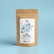 Load image into Gallery viewer, UNICORN SUPERFOODS - 100% Natural Blue Spirulina Powder