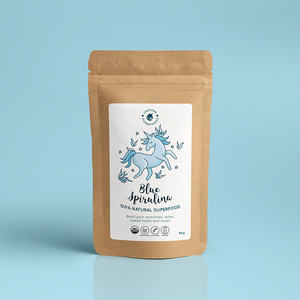 UNICORN SUPERFOODS - 100% Natural Blue Spirulina Powder