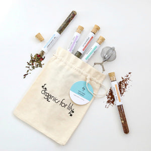 ORGANICS FOR LILY - TEST TUBE TEA SAMPLER