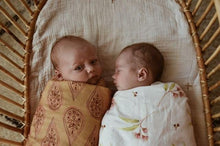 Load image into Gallery viewer, OAK MEADOW KIDS - 'MAGIC ISLE' - NATIVE ORGANIC SWADDLE