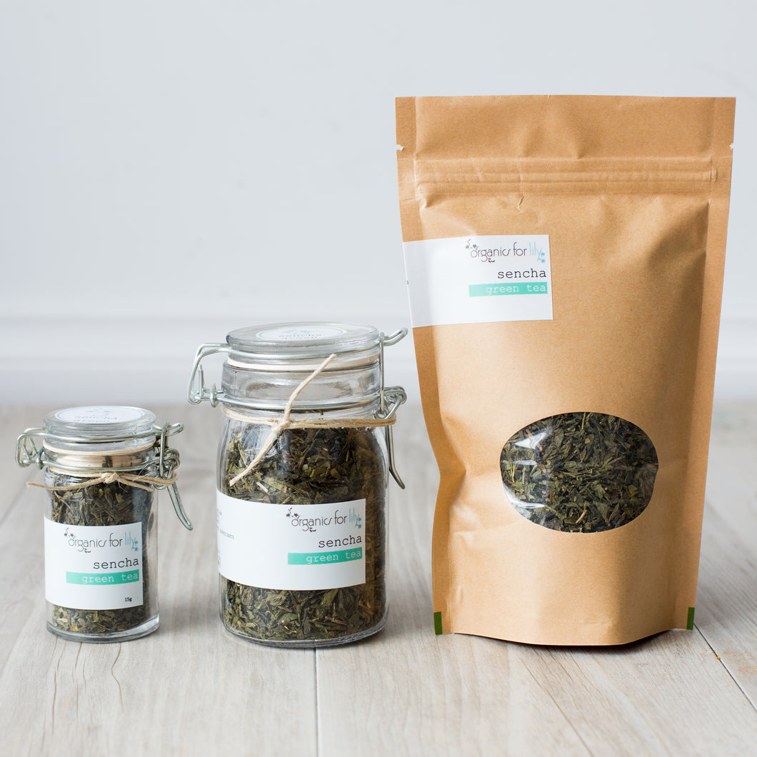 ORGANICS FOR LILY - SENCHA GREEN TEA
