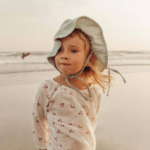 OAK MEADOW KIDS - MINT SUN HAT