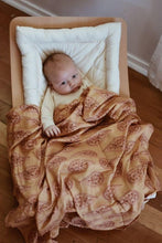 Load image into Gallery viewer, OAK MEADOW KIDS - 'MAGIC ISLE' - PAISLEY DREAMS ORGANIC SWADDLE