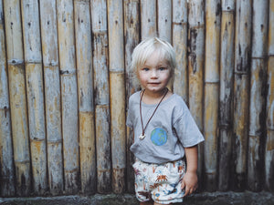 OAK MEADOW KIDS - 'MAGIC ISLE' - CHILD OF THE EARTH TEE