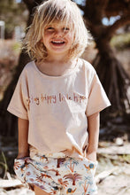 Load image into Gallery viewer, OAK MEADOW KIDS - 'MAGIC ISLE' - STAY TRIPPY LITTLE HIPPY TEE