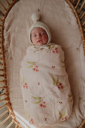 OAK MEADOW KIDS - 'MAGIC ISLE' - NATIVE ORGANIC SWADDLE