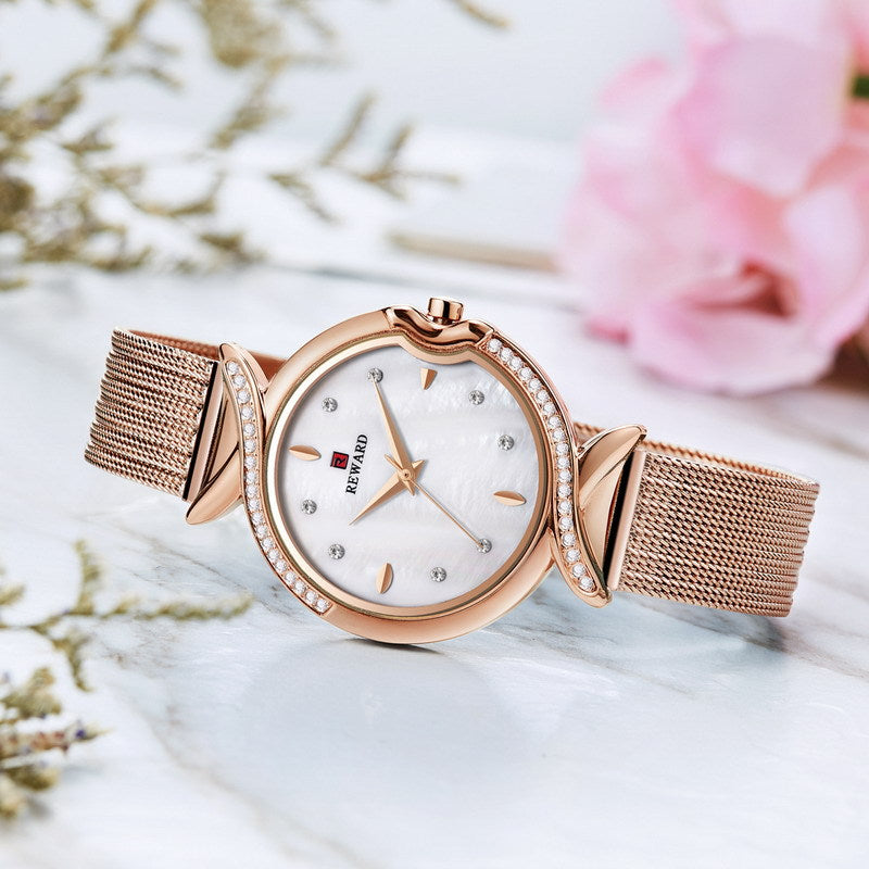 (Limited Time Offer)6-Color diamond dial ladies watch