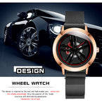 (Limited time offer)2019 wheel hub concept men's watch