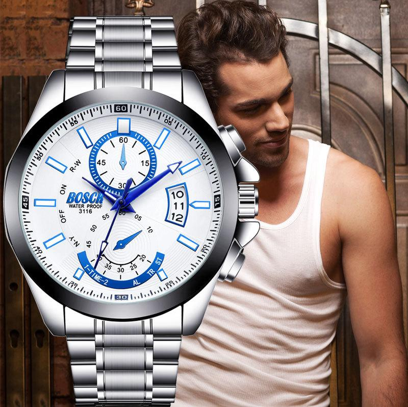 Holiday gift(sell at a low price)Men's waterproof quartz watch