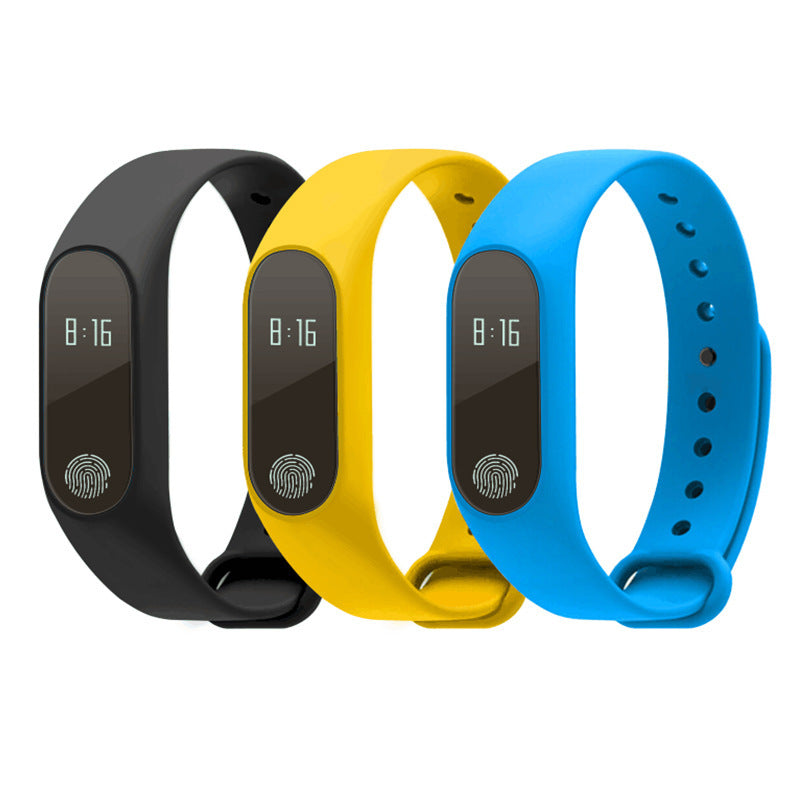 Colorful heart rate smart bracelet