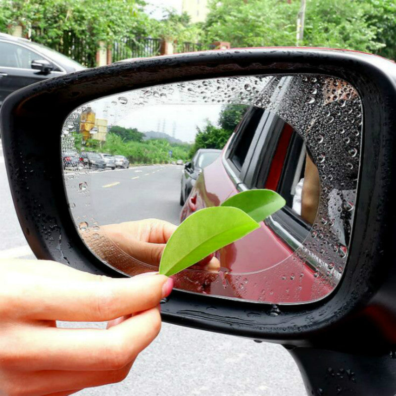2PCS/Set Car Sticker Anti Fog Car Rearview Mirror Protective Film