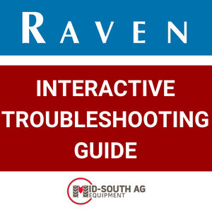 Need Help With Your Raven Precision Products? You've Got to See This Interactive Troubleshooting Guide.