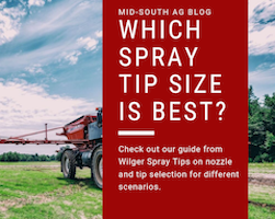 Wilger Spray Tips | Why Size Actually Does Matter.