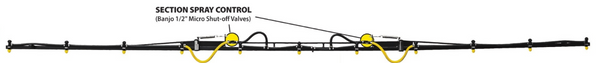 30 Foot non-flex boom, full extended. | Mid-South Ag. Equipment