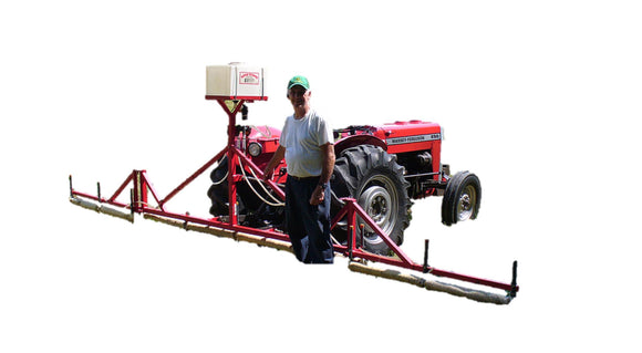 3-point hitch drift free sponge weed wiper applicator | Mid-South Ag. Equipment