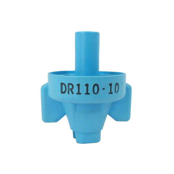 Wilger - DR110-10 (10) - ComboJet DR Series - Drift Control Flat Fan Nozzle - Light Blue-Mid-South Ag. Equipment