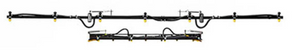 12 Ft. Spray Pattern Boom (20 In. Spacing)-F/S MFG-Mid-South Ag. Equipment