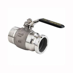 "Banjo 2"" Full Port Stainless Steel Stubby Valve-Mid-South Ag. Equipment"
