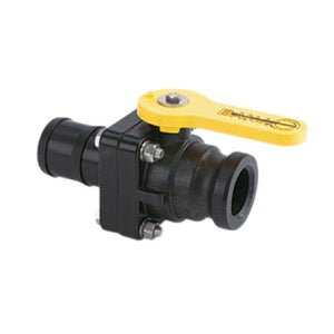 "Banjo 2"" Standard Port Stubby Ball Valve with 2"" Male Adapter x 2"" Hose Barb-Mid-South Ag. Equipment"