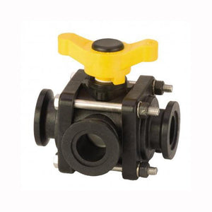 "Banjo 3-Way 1"" 4 Bolt Side Load Manifold Valve-Mid-South Ag. Equipment"