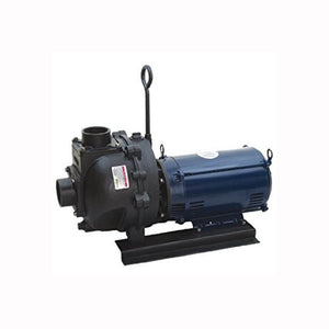 Banjo 333 Series Cast Iron Pump with Electric Motor-Mid-South Ag. Equipment