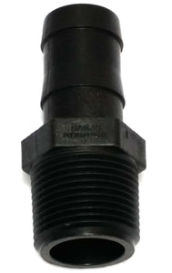 "Banjo HB125-075 - 1-1/4"" NPT X 3/4"" Hose Barb - Schedule 80-Mid-South Ag. Equipment"