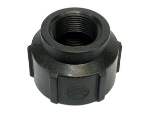"Banjo RC100-075 - 1"" X 3/4"" Poly Reducing Coupling - Schedule 80-Mid-South Ag. Equipment"