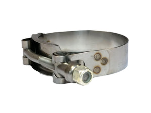 "Banjo Super Clamp - TC130 - 1-1/4"" T-Bolt Stainless Steel Hose Clamp-Mid-South Ag. Equipment"