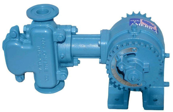 CDS-John Blue - Piston Pump - NGP-4055-F Series - single piston double acting - 120 PSI - 10.2 GPM flow-Mid-South Ag. Equipment