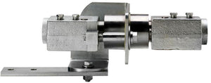 "Continental NH3 - A-SWV-150-G - 1-1/2"" Full Port Swing Valve Tool Bar Breakaway Coupler with Bracket-Mid-South Ag. Equipment"