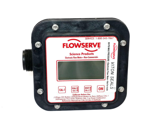 Flowserve Scienco SEM-10 Fixed Mount Electronic Flow Meter-Mid-South Ag. Equipment