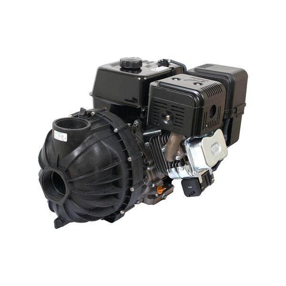 Hypro Polypropylene Gas Engine Driven Transfer Pump PowerPro 13 HP-Mid-South Ag. Equipment
