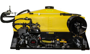 100Gal - Manually Controlled UTV Skid Sprayer - 4 HP Honda Engine w/ Ace Centrifugal Pump [57 PSI Max - 22.5 GPM Max]-Mid-South Ag. Equipment