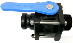 "Norwesco 62288 - 2"" Full Port Compact Ball Valve MPT X MCL-Mid-South Ag. Equipment"