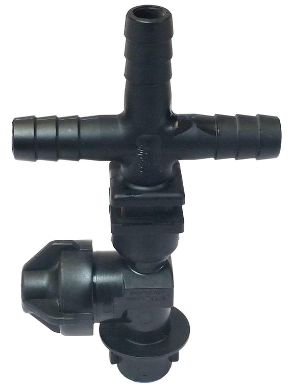 Quick TeeJet Nozzle Body with Side Check - 19351-213-540-NYB - Triple 1/2