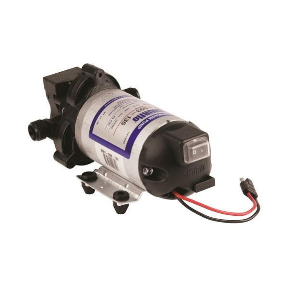Hypro Shurflo Diaphragm Automatic-Demand Pump 12VDC with Electrical Package-Mid-South Ag. Equipment