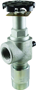 "Squibb-Taylor - A490NR-110 - Riser/Tank Service Valve with 110 GPM Excess Flow - 2"" MPT X 1-1/4"" FPT-Mid-South Ag. Equipment"