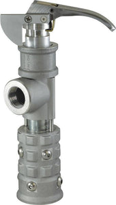 "Squibb -Taylor - AL366 - Minimum Bleed Quick Jaw Hose End Valve Assembly - 1-1/4"" FPT X 1-3/4"" Female ACME-Mid-South Ag. Equipment"