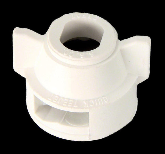 TeeJet - 25598-2-NYR - Quick TeeJet Cap with Gasket - White-Mid-South Ag. Equipment