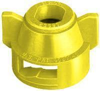 TeeJet - 25598-6-NYR - Quick TeeJet Cap with Gasket - Yellow-Mid-South Ag. Equipment