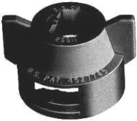 TeeJet - 25612-1-NYR - Quick TeeJet Cap with Gasket - Black-Mid-South Ag. Equipment