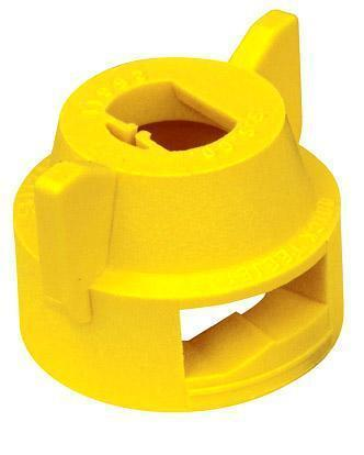 TeeJet - 25612-6-NYR - Quick TeeJet Cap with Gasket - Yellow-Mid-South Ag. Equipment