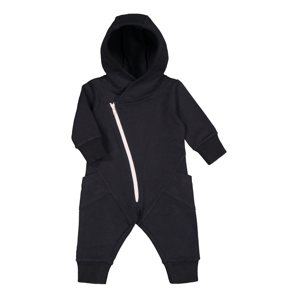 Gugguu Baby Jumpsuit Jumpsuitit Black / White Sand 50
