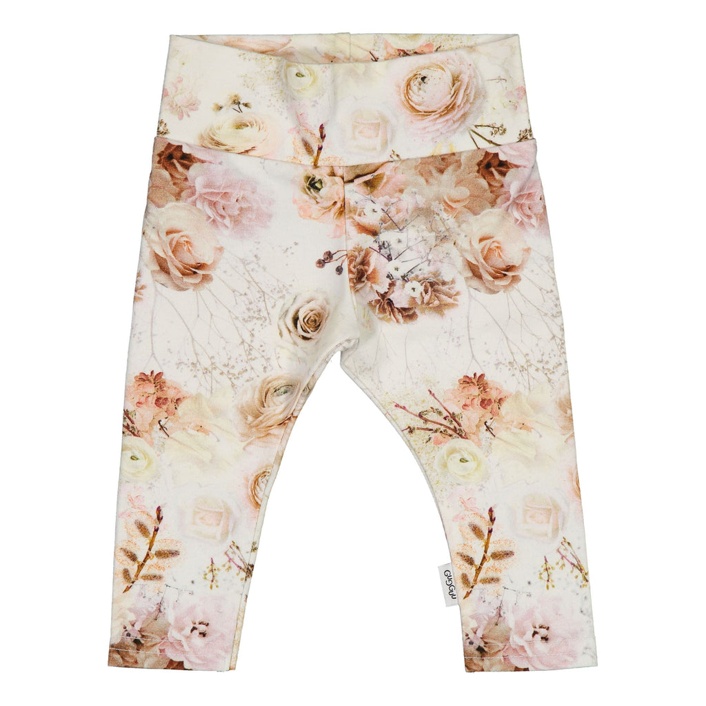 Gugguu Baby Print Leggings Leggingsit Autumn Garden 50